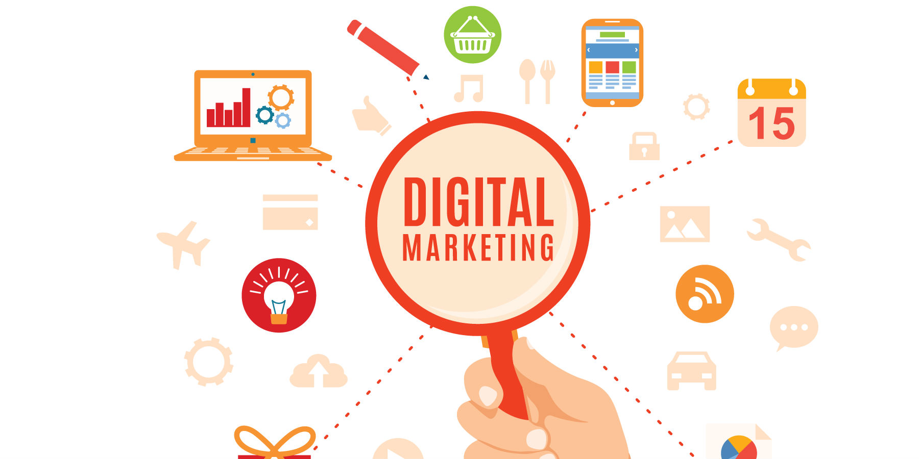 Digital marketing has a massive advantage over the traditional marketing methods; earlier advertisements